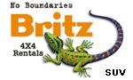 Britz SUV Rentals Range