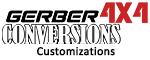 Gerber 4x4 Conversions Customizations Range