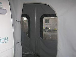 Rear enclosed Tent