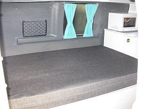 Interior Fixed Bed