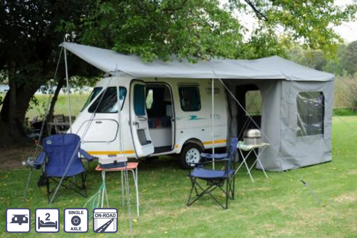 Model 35 Small Caravans South Africa