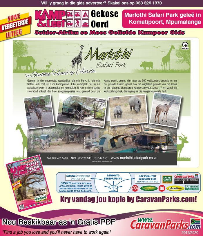 marlothi safari park gekose oord resort news marlothi safari parkmarlothi safari park gekose oord