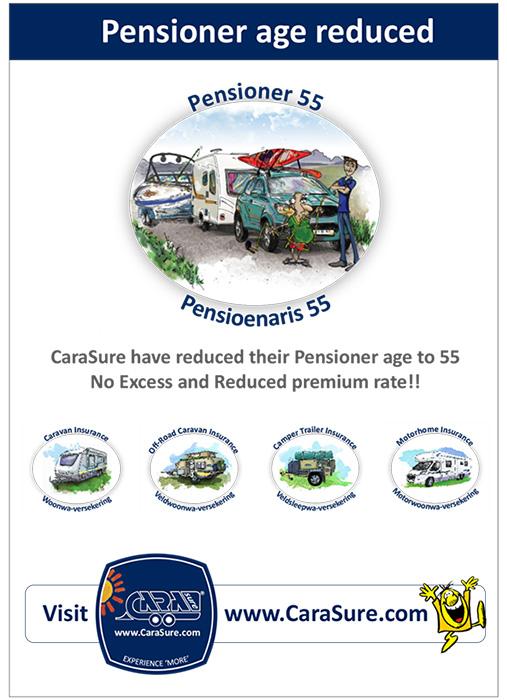 Pensioner age reduced