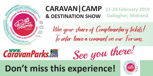Win tickets with CaravanParks.com