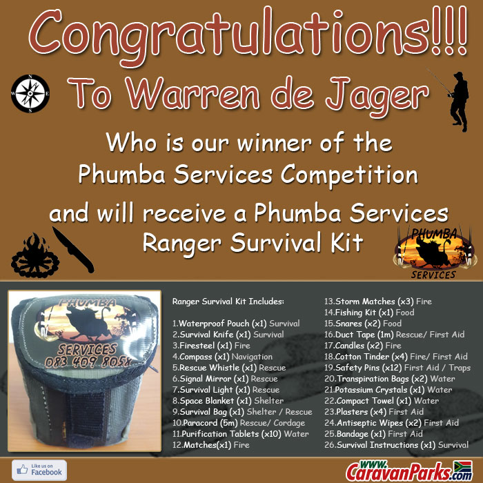 Phumba Services Competition Winner