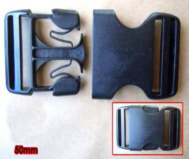 Webbing Buckles 50mm (2 pack) - WBL50P