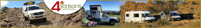 4 Seasons 4x4, Motorhome and Car Rentals