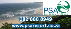 PSA Resort - Caravan Parks, Camping Sites, Holiday Resorts in Eastern Cape South Africa
