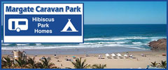 Margate Caravan Park - Caravan Parks, Camping Sites, Holiday Resorts in KwaZulu-Natal South Africa
