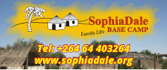 Sophia Dale Base Camp - Caravan Parks, Camping Sites, Holiday Resorts in Namiba