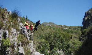 11.  Kloofing – Hottentots Holland Nature Reserve, Western Cape