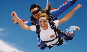 18.  Skydiving – Modimolle, Limpopo