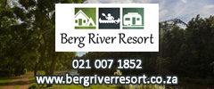 Berg River Resort - Caravan Parks, Camping Sites, Holiday Resorts in Western Cape South Africa