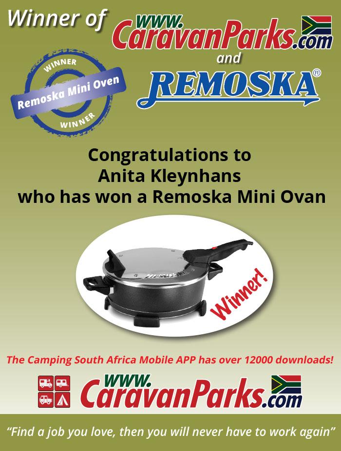 2017 April Remoska Mini Oven Competition Winner