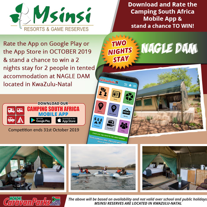 2019 October Camping South Africa Mobile App Competition