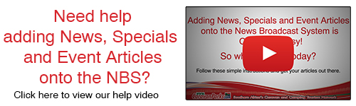 How to create a news, specials and events articles on NBS